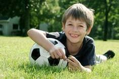 Soccer Kid soccer party ideas like Super Soccer: Play a game of soccer using a big beach ball instead of a soccer ball.