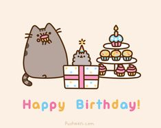Happy Birthday to Pusheen's cute little sister, Stormy!    https://www.facebook.com/Pusheen/photos/a.385283634831198.112729.384381901588038/1017777194915169/?type=1