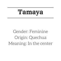 Girl's name