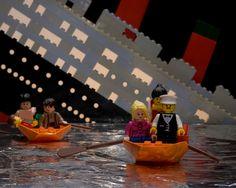 Titanic Lego Scene