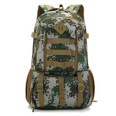 2017 hot new male military backpacks bag high grade waterproof 50 L backpack multi-function super large capacity travel bags