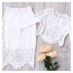 | Paris | Crochet Lace Set | RB-London.com |