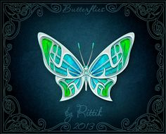 Butterflies - Brisa by Rittik.deviantart.com on @DeviantArt