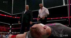 Randy Orton RKO's Paul Heyman #WWE #GIF