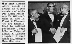 Celebration of 50 year Alpha Phi Alpha Fraternity Members … | Flickr
