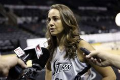 """WNBA Player Becky Hammon Becomes NBA's Second Female Asst. Coach- http://getmybuzzup.com/wp-content/uploads/2014/08/342368-thumb.jpg- http://getmybuzzup.com/becky-hammon-becomes-nbas/- By Eleven8 Congratulations to 37 year old former WNBA player, Becky Hammon, who has been hired as assistant coach by the San Antonio Spurs, making her the second female assistant coach in NBA history (following Lisa Boyer as asst coach of Cleveland Cavs). """"I very much look forward to the."""