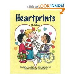 story of children helping others and leaving heartprints all along the way