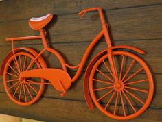Bike Wall Decor/ Pick Your Color/ Bicycle Metal by VeritasInspired