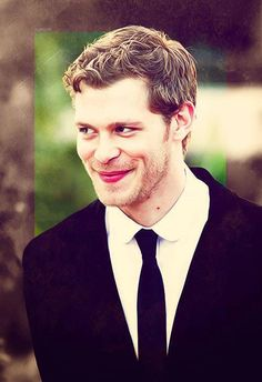 Joseph Morgan  .....what a mischievous grin.