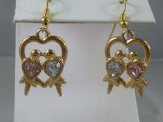 3 for 9 SALE ALL Earrings  Vintage AVON Love by labaublesandbags, $6.00