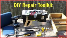 DIY Toolkit: Essential Tools For Minor House Repairs It takes time to build a complete DIY toolkit. Start with the essentials, and build on your collection as you take on new projects Diy Toolkit, Water Saving Devices, Old Washing Machine, Handyman Projects, Plumbing Tools, Must Have Tools, Diy Home Repair, California Real Estate, Home Repairs