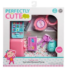 Perfectly Cute Just Like Mommy Baby Doll Diaper Bag Set with Accessories Little Girl Toys, Toys For Girls, Cute Baby Dolls, Cute Babies, Baby Doll Diaper Bag, Pool Party Drinks, Barbie Camper, Baby Alive Dolls, Baby Doll Accessories