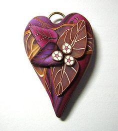 Polymer Clay Hearts · Polymer Clay |  CraftGossip.com
