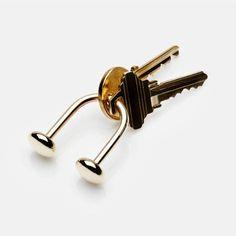 Carl Aubock — U Key Ring — THE LINE
