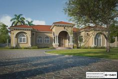 This is five bedroom Spanish influenced house plan that comes with 2 living rooms, a dining and a kitchen. A grand entrance welcomes you home through a large foyer that connects to the rest of the house. A maid's room with its bathroom can be converted to a general store if needed. The master bedroom gives you all the privacy you need and all the comforts in a home within a home.