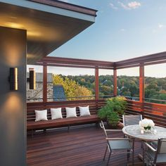 Roof Astounding Roof Deck Design Porch Roofs Over Decks Deck For Rooftop Deck Ideas Bring In Increased Home Value With Rooftop Deck Ideas — The Decoras Jchansdesigns Modern Patio Design, Modern Deck, Contemporary Patio, Deck Design, House Design, Modern Backyard, Pop Design, Garden Design, Rooftop Terrace Design