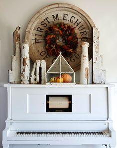 If you consider yourself crafty, there are lots of DIY fall wall decor ideas you can whip up for the season. Think cheerful pom-pom garlands, dressed-up embroidery hoops, handmade wreaths, and fall signs. These gorgeous fall wall decor ideas are here to inspire your seasonal refresh. #falldiy #walldecor #fallhomedecorideas #crafts #diyhomedecor #bhg