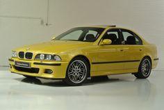 BMW E39 M5, Phoenix Yellow
