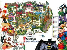 Six Flags Magic Mountain, California