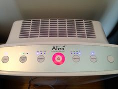 Alen BreatheSmart Air Purifier with HEPA-Silver Filter & Giveaway #HealthyChanges - The Education of a Stay at Home Mom
