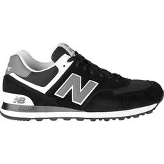 New Balance Men's 574 Fashion Sneakers - Black/Grey/White | DICK'S Sporting Goods