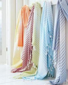 Shop for exclusive Garnet Hill bath decor. Our quality bath decor includes bath towels, bath mats, bath rugs, and shower curtains in delightful colors. Bathroom Towel Decor, Bath Decor, Turkish Cotton Towels, Luxury Towels, Bath Rugs, Washing Clothes, Beach Towel, Bathrooms, Garnet