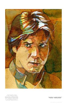 Nerf Herder Giclee by ACME Archives   Sideshow Fine Art Prints It Service Desk, Han Solo And Chewbacca, Love Stars, Indiana Jones, Star Wars Art, Star Trek, American Artists, Memes, Art Gallery