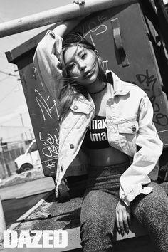 4minute's Sohyun // Dazed & Confused Korea