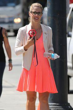 Arrow - Emily Bett Rickards as Felicity Smoak