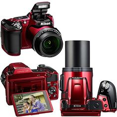 Nikon COOLPIX L840 16 MP CMOS Digital Camera with 38x Zoom NIKKOR Lens, HD Video & and Built-In Wi-Fi – Red (Import) + 4 AA High Capacity Batteries with Quick Charger + 10pc Bundle 32GB Deluxe Accessory Kit w/ HeroFiber® Ultra Gentle Cleaning Cloth  http://www.lookatcamera.com/nikon-coolpix-l840-16-mp-cmos-digital-camera-with-38x-zoom-nikkor-lens-hd-video-and-built-in-wi-fi-red-import-4-aa-high-capacity-batteries-with-quick-charger-10pc-bundle-32gb-deluxe-acc/