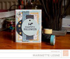 Happy Halloween *New BasicGrey Persimmon line* - Handmade Halloween card Happy Halloween, Halloween News, Halloween Design, Halloween Cards, Basic Grey, Gibson Girl Hair, Hair Product Organization, Little Girl Haircuts, Card Tricks