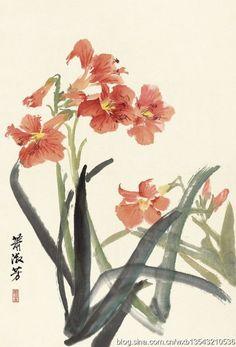 Xiao Shufang's painting