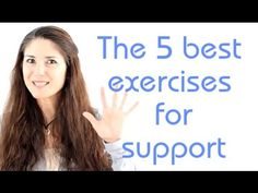 Freya\'s Singing Tips: The 5 best exercises for support