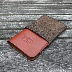 iPhone 5/5s Leather case No.22  Buffalo  Chestnut by garnydesigns, $69.00