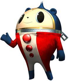 Persona 4 Teddie Kuma Smile Mini Plush Toy