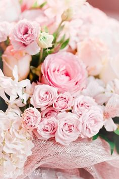 prettie-sweet:  (via P is for Party: {Real Parties} Elegant Pink Baby Shower)