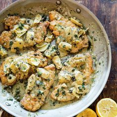 Chicken Piccata with Artichokes | Williams-Sonoma Taste