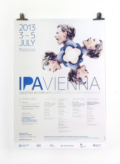 IPA VIENNA 2013 Ipa, Keynote, Vienna, Print Design, Movie Posters, Film Poster, Popcorn Posters, Billboard, Film Posters