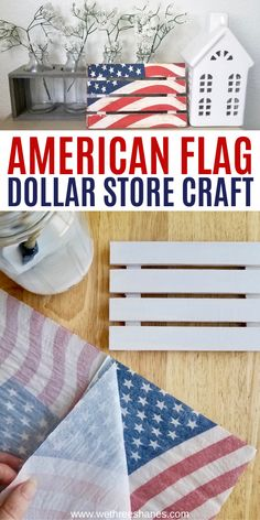 4th July Crafts, Fourth Of July Decor, 4th Of July Decorations, July 4th, Americana Crafts, Patriotic Crafts, Dollar Tree Decor, Dollar Tree Crafts, Summer Crafts