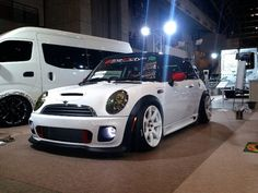 Mini Cooper Body Kits - During the procedure for auto detailing, your vehicle is rejuvenated to the point at which it looks and feels like a completel. White Mini Cooper, Mini Cooper Custom, 2006 Mini Cooper, Sports Wagon, John Cooper Works, Gas Monkey, Benz Car, Mini Me, Car Detailing