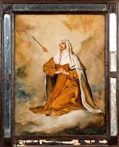 "ordocarmelitarum: "" Transverberation of Our Seraphic Mother Saint Teresa of Jesus by Spanish School, 18th Century """