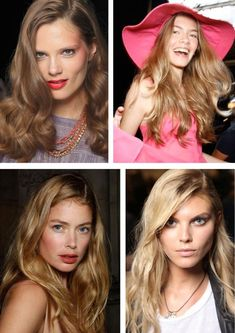 long textured waves are big hair trends for 2012