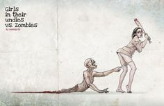 Deadly vixens take on undead hordes.