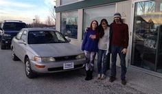 Kayla's new 1993 TOYPTA COROLLA! Congratulations and best wishes from North Country Nissan and LOUIS YOUNG.