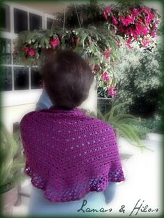 Eva s Shawl Crochet Pattern : 1000+ images about Crochet Evas shawl on Pinterest ...