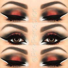 Beautiful orange eyes