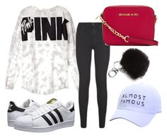 """""""Going to the mall"""" by freedom2095 ❤ liked on Polyvore featuring adidas Originals, 7 For All Mankind and MICHAEL Michael Kors"""