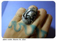 Spanish Galleon Ring Shot by Kristin St Clair  www.silverella.nyc #spanishgalleonring #pirateprincess #silverella #silversea