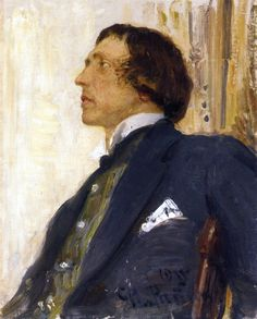 Portrait of Nikolai Evreinov Painting Ilya Repin, Russian Painting, Russian Art, Ukrainian Art, Oil Portrait, Historian, Art World, Great Artists, Image
