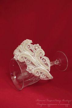 """Купить Свадебный ободок (тиара) """"Мадлен"""" - ободок для волос, свадебный ободок, свадебный обруч"""